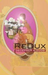 The RedUX Studio Challenge - Lunachix Design