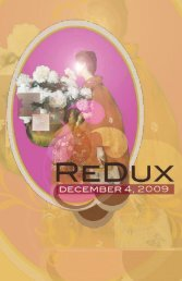 The RedUX Studio Challenge - Lunachix Design