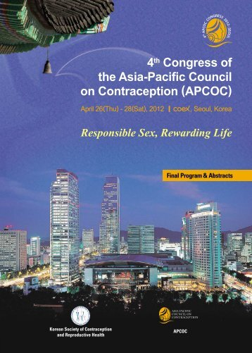 Final Program & Abstracts - Apcoc2012.org