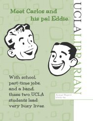 Meet Carlos and his pal Eddie. Meet Carlos and his ... - UCLA Library