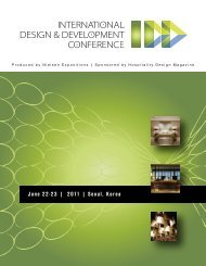 Produced by Nielsen Expositions | Sponsored by Hospitality Design ...