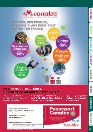 L'offre vacances et loisirs 2011 du FNASS - InfoSPID