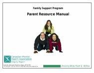 Parent Resource Manual - University of Calgary