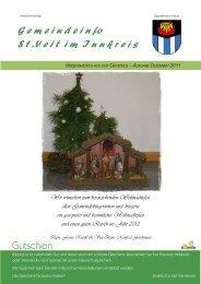 Wir wünschen zum bevorstehenden ... - Gemeinde St. Veit/Innkreis