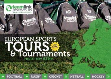 Junior European Brochure 2011-2012 - Teamlink
