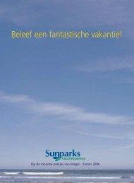 Sunparks-zomerbrochure - Schrijf.be