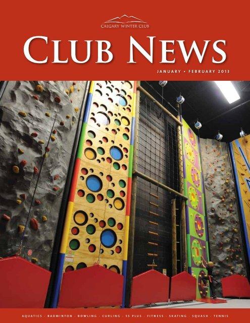 to view the January/February 2013 - Calgary Winter Club