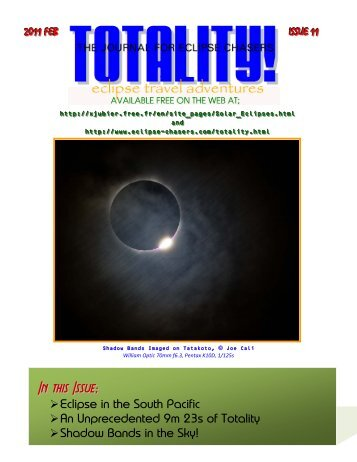 TOTALITY! - Eclipse Chasers