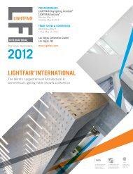 Monday, May 7 - Lightfair International