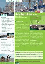 Butjadinger Küste Nordsee