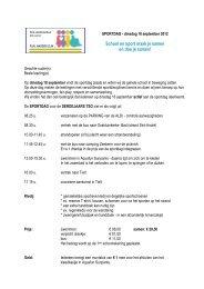Sportdag 3 tso - Sint-Jozefsinstituut