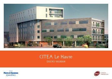 CITEA Le Havre - Pierre et Vacances