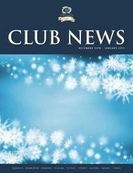 December 2010 · January 2011 - Calgary Winter Club