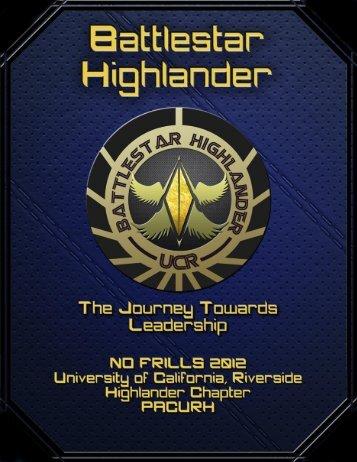 Battlestar Highlander - pacurh - National Association of College and ...