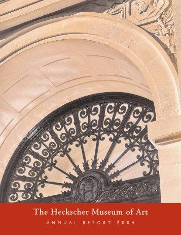 2004 Annual Report - the Heckscher Museum of Art