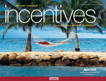 Incentives - Marriott