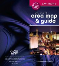 Las Vegas Area Map and Guide