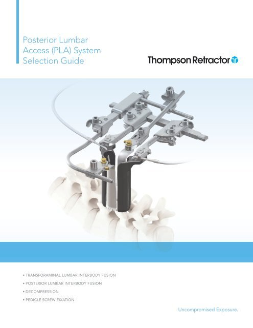 PLA SG 9-12 pdf - Thompson Surgical Instruments