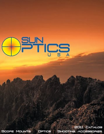 2011 Catalog Scope Mounts Optics Shooting ... - Who-sells-it.com