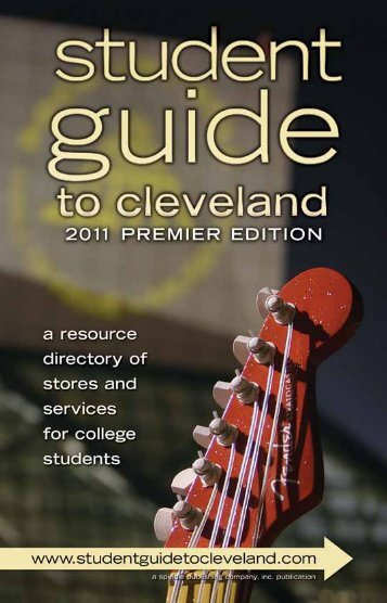 Student Guide to Cleveland Booklet