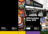 WTM Exhibitor News 2010 - World Travel Market