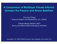 Fu-Lung Chang Science System and Applications ... - Ceres - Nasa