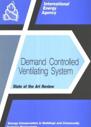Demand Controlled Ventilating System State of the Art - ECBCS