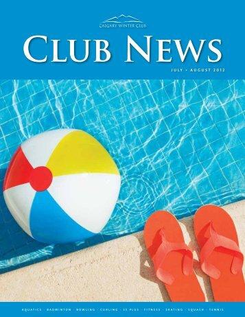 J U L Y • A U G U S T 2 0 1 2 - Calgary Winter Club
