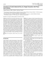 Treatment of Textile Industrial Dyes by Simple Ozonation with Water ...