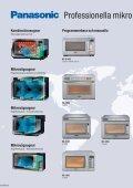Professionella mikrovågsugnar - Daalderop - Page 2