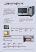 Professionella mikrovågsugnar - Daalderop - Page 6