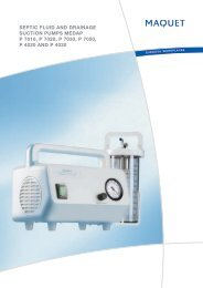 septic fluid and drainage suction pumps medap p - Puls as