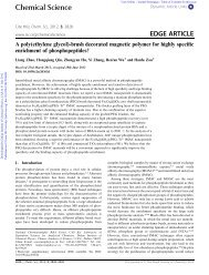 Chemical Science EDGE ARTICLE - bioanalysis.dicp.ac.cn