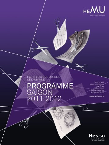 Programme de saison 2011-2012 - Hemu