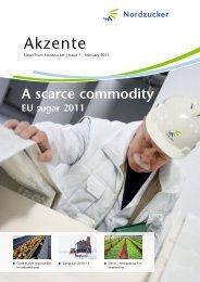 A scarce commodity - Nordzucker AG