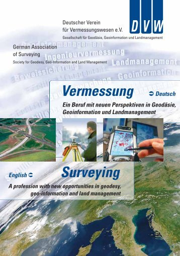 Vermessung Deutsch Surveying - Deutscher Verein für ...
