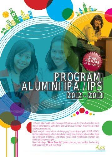 Brosur Program Alumni 2012/2013 - Sony Sugema College