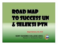3 - Sony Sugema College