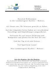 Herzlich Willkommen in der Landmetzgerei Kachler – Hoferer, wir ...