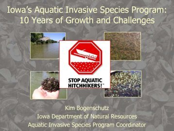 Iowa's AIS Program - School of Natural Resources