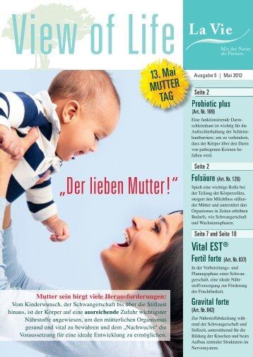 View of Life | Ausgabe 5 | Mai 2012 - La Vie