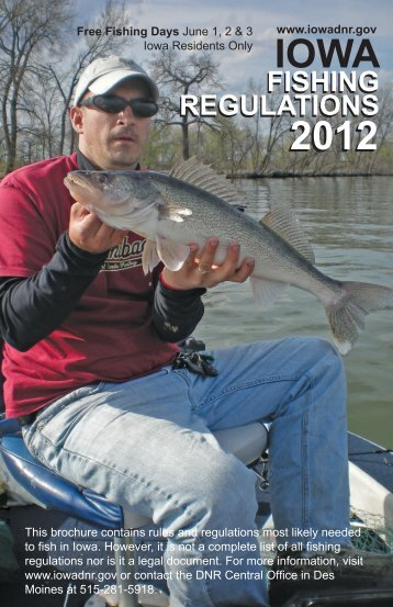 DNR Fishing Regulations 2012 - Marshall County