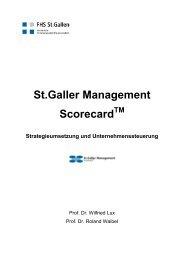 St.galler Management Scorecard