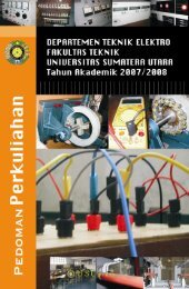 Teknik Elektro - Universitas Sumatera Utara