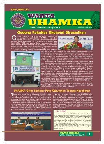 Warta UHAMKA Edisi maret 2011