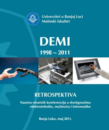 DEMI 2011 .indd - DEMI - Faculty of Mechanical Engineering ...
