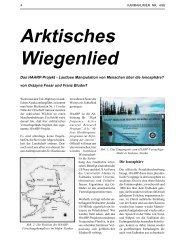 Arktisches Wiegenlied - HAARP - Denkmalnach.org