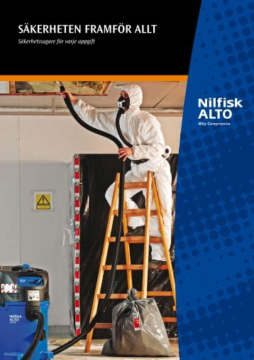 Brochure: SAFETY VAC - Nilfisk-ALTO
