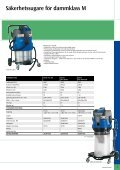 Brochure: SAFETY VAC - Nilfisk-ALTO - Page 7