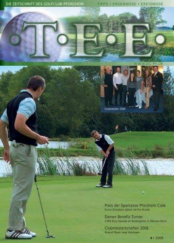 Clubmeisterschaften 2006 - Golfclub Pforzheim